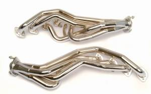 "Ford Mustang 1996-2004 2V & 4V - Mustang 96-04 2V GT & 4V Cobra Long Tube Exhaust - MAC Performance - Ford Mustang 1996-2004 2V GT MAC 1 5/8"" Long Tube Headers Chrome Plated with 2.5"" Collectors"