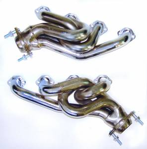 "Ford Mustang 1979-1995 V8 - Mustang 79-93 5.0 Short Tube Exhaust - MAC Performance - Ford Mustang 1979-1993 5.0L MAC 1 5/8"" Equal Chrome Short Tube Headers"