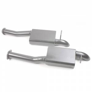 "Mustang 96-04 - Mustang 96-04 2V GT & 4V Cobra Cat Back Systems - MAC Performance - 2.5"" Cat-Back Exhaust Pro Dumps Mustang 1996-04 GT and 1996-98 Cobra"