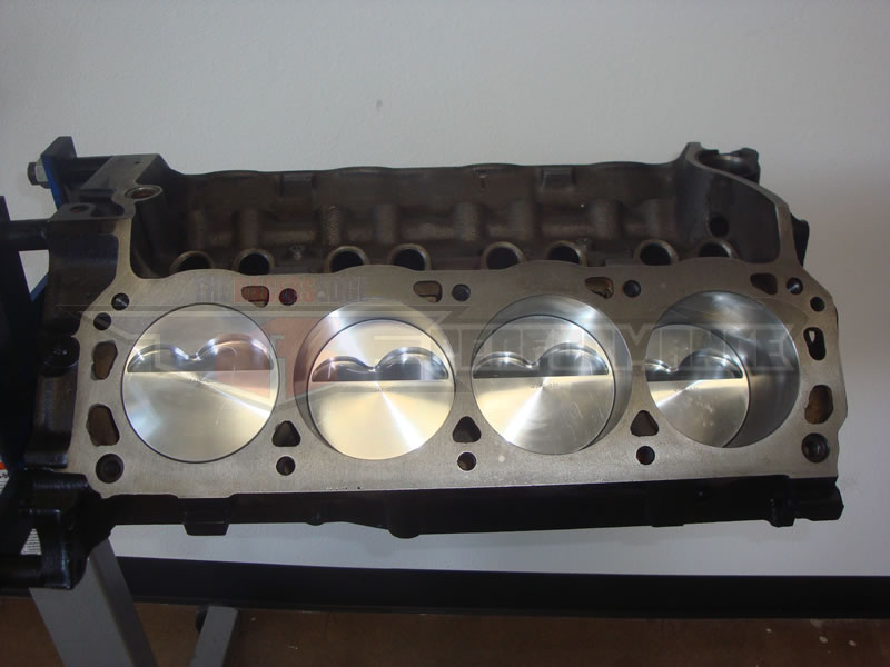 Dart shp 363 stroker ford big bore short block