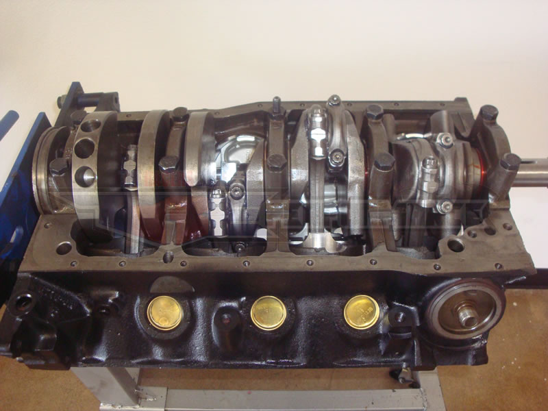 Ford 306 stroker short block sbf 302 flat top probe for Ford stroker motor sizes